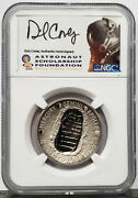 2019-s Apollo 11 Half Dollar Pf 70 Ultra Cameo Ngc Signed By D. Covey 1 Of 1000