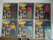Rare Lot 1974 Mego 8 Inch Star Trek Action New Unpunched Cards Scottie Mccoy