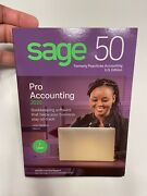 Sage 50 Pro Accounting 2020 Software Bookkeeping Software Brand New In Box