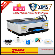 Automatic T-shirt Machine Printing A5 Uv Flatbed For Metal Leather Wood Acrylic