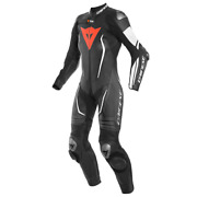 Dainese Misano 2 Ladies D-air Perforated Race Sports Track 1 Piece Leather Su...