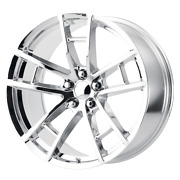 4 Rims Oe Creations For Dodge Challenger/charger 20x9 5x115 Offset 20 Chrome