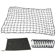 4and039x6and039 Luggage Net Bungee Cargo Net Strech Duty Mesh Holds Adjustable A2q1