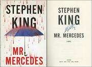Mr. Mercedes Hardcover First Edition/1st Printing Signed By Stephen King