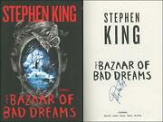 The Bazaar Of Bad Dreams Hardcover 1st/first Edition Signed By Stephen King