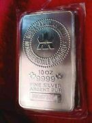 10 Troy Ounce Pure Silver Bar The Bar In The Photo Is The Bar In The Ad 144