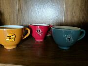 Starbucks 2006 Halloween Ceramic Oversized Boo Cup With Ghost Mug Complet Set