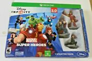 New Disney Infinity 2.0 Marvel Super Heroes Game Starter Pack - Xbox One Read