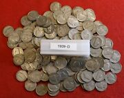 1939-d Jefferson Nickel 1 Roll 40 Coins Circulated Coins Check Out Store