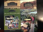 4 Book Lot Images Of America Opryland Usa Dutch Wonderland Lookout Mountain
