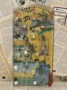 1960 /nutty Mads/natty Mud/pinball Games/vintage/marx/monsters