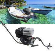 4stroke 15hp Outboard Motor Fishing Boat Gas Engine Single-cylinder 20 Km/h Usa