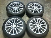Rims With Tires 19 X 8-1/2 Opt Q8r Fits 13-15 Xts See Pictures Free Shipping