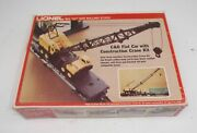 Lionel 9157 O Scale Cando C And O Flat Car With Construction Crane Kit - Never Used