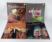 Mantovani Lp Lot 4 Records Songs To Remember , Gems Forever , Strauss Waltzes +