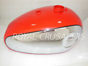 Brand New Bsa Gold Star Red Painted Chromed Petrol Tank Reproduction @pummy