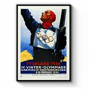 Olympic Games Germany 1936 Vintage Wall Art