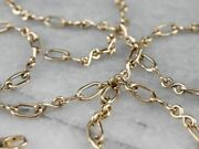 14k Gold Infinity Link Chain Necklace