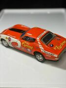 Vintage Gt 609 Racing Team Red Cyclone Car Battery Operate Llitho Tin Toy Japan