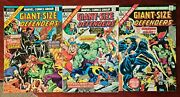 Giant-size Defenders 3-book Set Issues 2,4,5 Marvel Comics Lot Son Of Satan