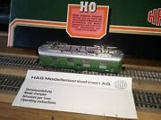 Hag 235 E-lok Re 4/4 416 Of The Sbb Superb Metal Model Working With Leaflet