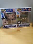 Funko Pop Space Jam Lot- Marvin The Martian 1085 And White Mamba 1089