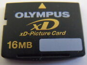 New Olympus 16mb Xd-picture Card For Fuji And Olympus Digital Cameras, Japan