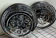 Harley 2000 -08 Touring Road Winder Dyna 16x3 Custom Chrome Wheels Outright