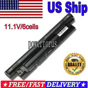 6 Cell Battery For Inspiron Mr90y 14r5421 5437 15r3521 17r5521 5537