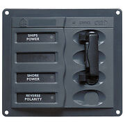 Bep Marine 900-acch Bep Ac Circuit Breaker Panel Without Meters 2dp Ac230v