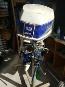 Spl112 112hp Evinrude Complete Motor Has 1 Bad Power Pack / For Parts