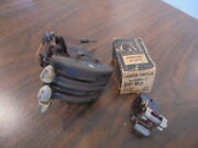 1949 1950 Chevrolet Accessory Air Flow Heater Control Assembly+nos Heater Switch