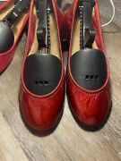 Limited Edition Sold Out Tieks Ballet Flats Size 7 Red Diamonds