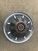 Single 1 1966-1977 Ford Bronco 4x4 F100 F150 Truck Hubcaps Driver 15andrdquo Red