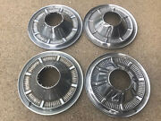 """Set 4 1966-1977 Ford Bronco 4x4 F100 F150 Truck Hubcaps Driver 15"""""""