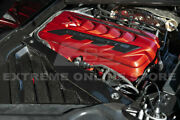 For 20-up Chevy C8 Corvette Carbon Fiber Factory Style Engine Bay Panel Cover