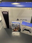 Brand New Sealed - Sony Ps5 Disc Edition, Extra Controller And Sackboy Game.