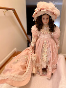 Ao-6 Thelma Resch Lady Jane Porcelain Collectible Doll 32 Tall 1 In Series