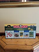 John Deere Collectorand039s Edition Monopoly Game Pewter Tractor Plow Factory Sealedandnbsp