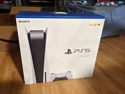 Sony Ps5 Playstation 5 Blu-ray Disc Game Console New International Shipping