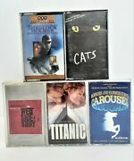 Cats Titanic West Side Story Carousel Sherlock Holmes Movie Music Cassettes 720