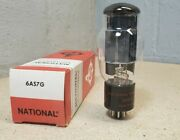 National Electronics No. 6as7g Vacuum Tube Nos - Made In U.s.a.