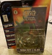 Rare New Boba Fett Ig-88 Shadows Of The Empire Figures And Foreign Comic Star Wars