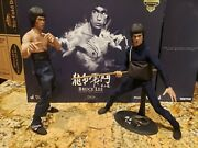Hot Toys Sideshow Exclusive Bruce Lee Dx04 With Extra Body 1/6 Scale Collectible
