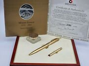 Sheaffer Legacy Mount Everest Limited Edition 2003 Fountain Pen