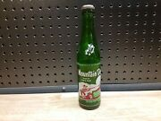 Old Vintage Hillbillies Mountain Dew Advertising Glass Soda Bottle With Cap