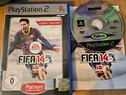 Fifa 14 2014 - Ps2 Playstation 2 Game Pal German Release With Manual