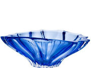 Crystal Glass Bowl 12 For Sweets Fruits Candy Dessert Bowl Blue Bohemian Czech