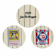 Mitchell And Ness New York Yankees 1939 Joe Dimaggio 5 Centenial Patch Authentic