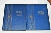 Whitman Coin Albums Liberty Walking Halves 1916-1940 And 1941-1947